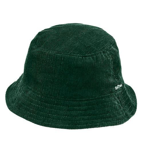 Chapéu Fashion Verde Escuro Veludo