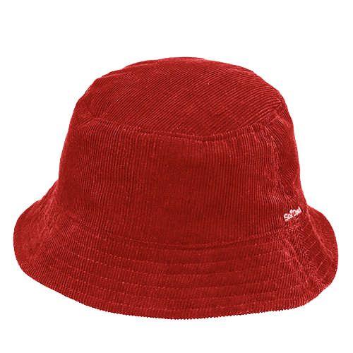 Chapéu Fashion Vermelho Veludo