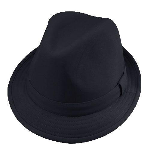Chapéu Fedora Justin Preto  Verão