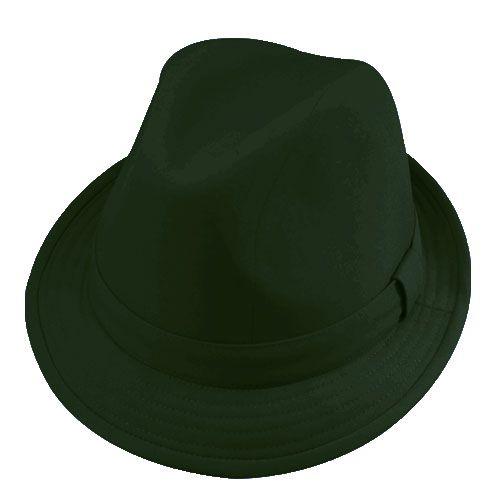 Chapéu Fedora Justin Verde Escuro Verão