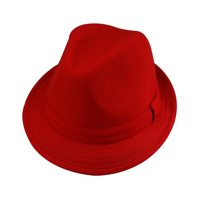 Chapéu Fedora Justin Vermelho San Doná