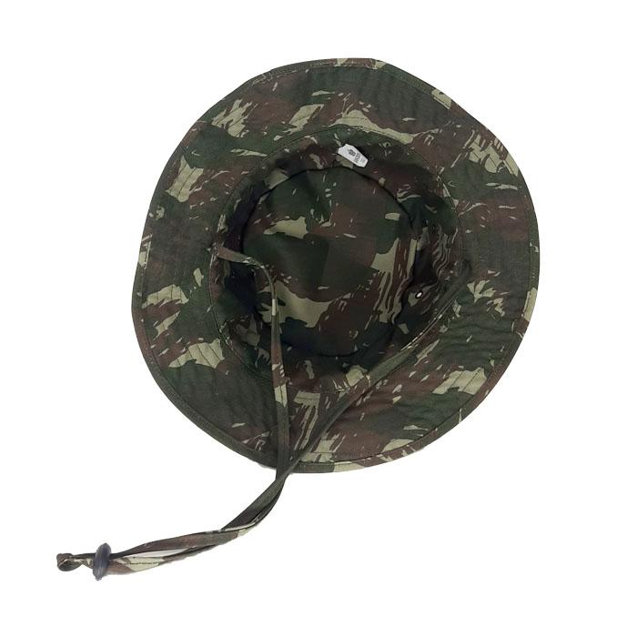 Chapéu Gorro Selva Militar Camuflado Algodão