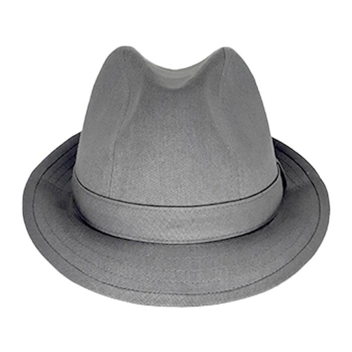 Chapéu Justin Cinza Escuro Verão