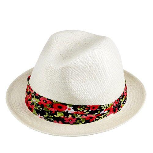 Chapéu Luna Panamá Importado cor Natural Feminino