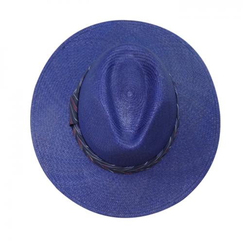 Chapéu Panamá Feminino Amapola Azul San Doná Ref: 016.07.01.037