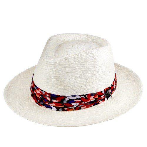 Chapéu Pierina Feminino Panamá Importado Aba 6cm