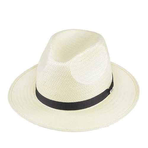 Chapéu Rock Santeiro Shantung Branco Aba 7 cm