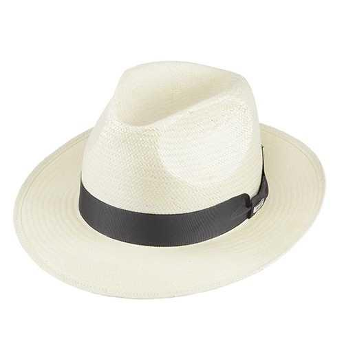Chapéu Rock Santeiro Super Fino Branco Aba 7 cm