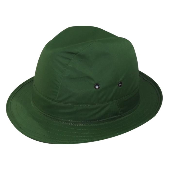 Chapéu Social Nylon Super Feltro e Nylon Verde