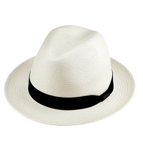 Chapéu Social Panamá cor Natural Importado Aba 5cm
