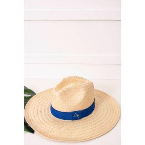 Chapéu Feminino modelo Panamá Rústico Malu Pires Aba Média