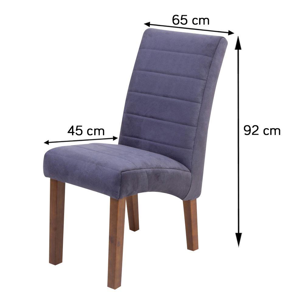 Conjunto Sala de Jantar Mesa Versatille Quadrada E 8 Cadeiras Dubai II