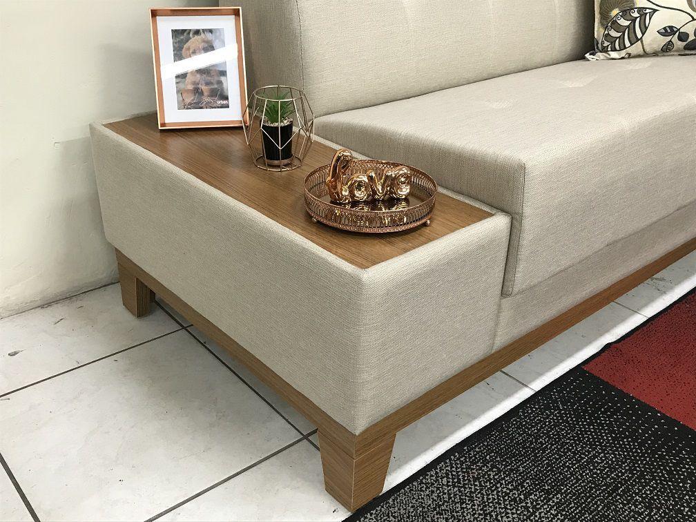 Sala Completa Sofá Elegance + Rack Blumenau