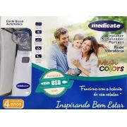 Inalador Nebulizador Portátil Mesh MD 4500 Medicate