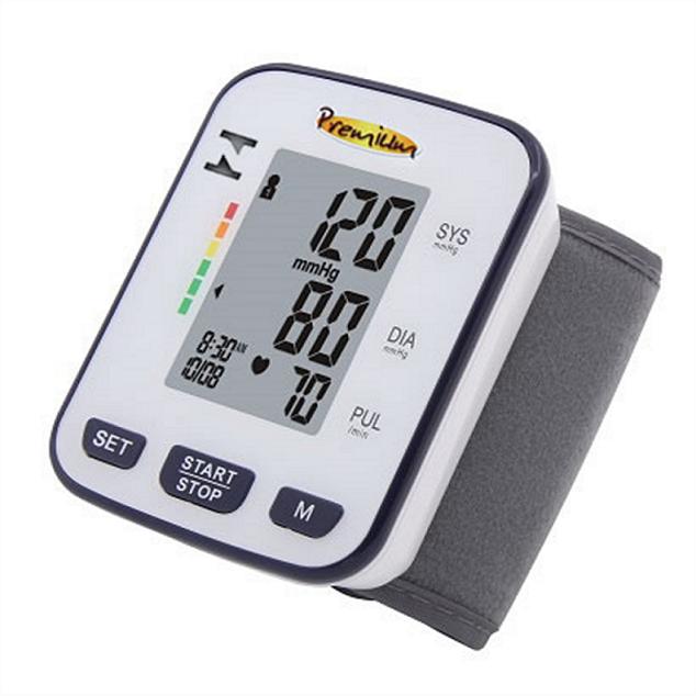Aparelho de Pressão Digital de Pulso Automático Premium BSP21