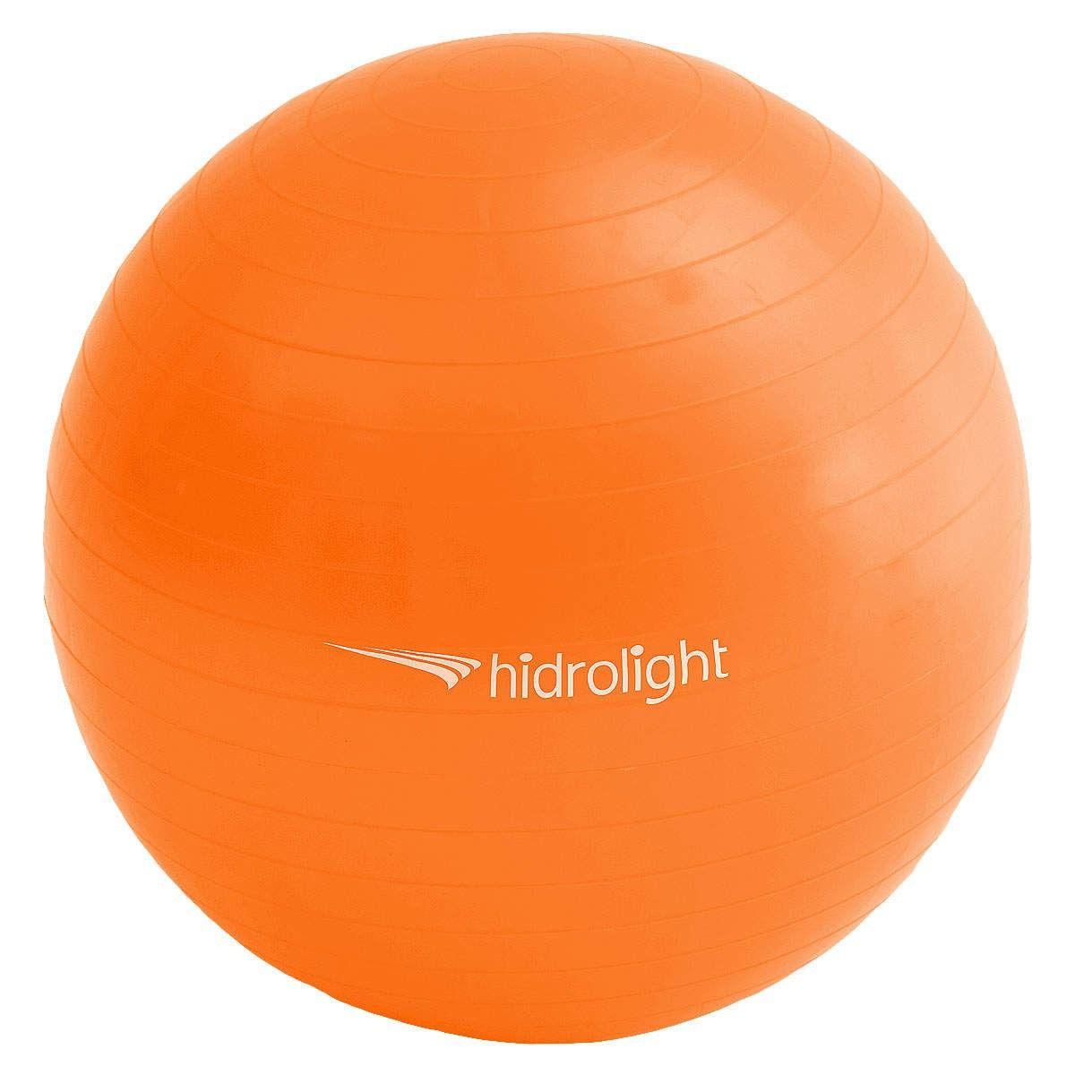 Bola para Ginástica 55cm Hidrolight Laranja - Fisioterapia, Pilates e Fitness
