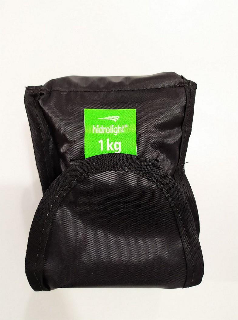 Caneleira Peso Hidrolight Kit 2 Kg - Duas unidades de 1 kg