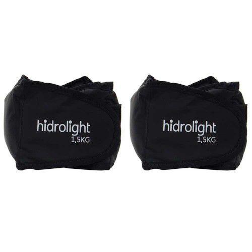 Caneleira Peso Kit 3 Kg Hidrolight - Duas unidades de 1,5 kg