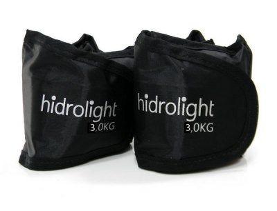 Caneleira Peso Hidrolight Kit 6 Kg - Duas unidades de 3 kg