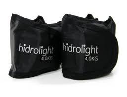 Caneleira Peso Kit 8 Kg Hidrolight - Duas unidades de 4 kg