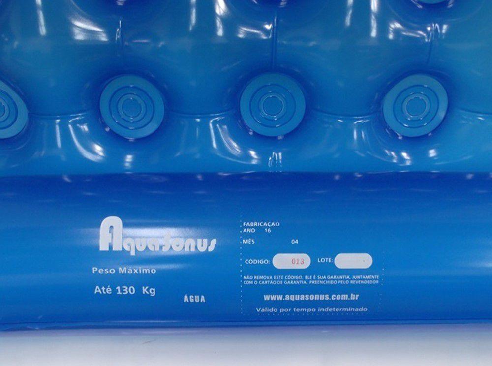 Colchão Caixa de Ovo Inflável Fechado Aquasonus