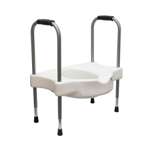 Elevador de assento sanitário com alças reguláveis - SIT V Carci