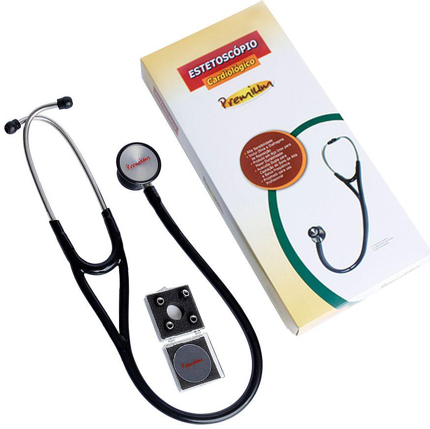 Estetoscópio Cardiológico Premium Duplo