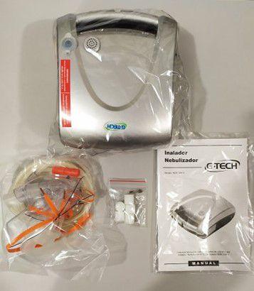 Inalador e Nebulizador G Tech Nebcom V SuperFlow Plus
