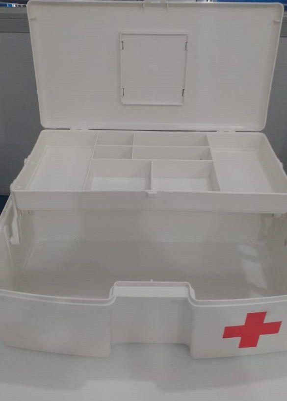 Maleta para Primeiros Socorros SOS com 1 Bandeja Articulada Polymer