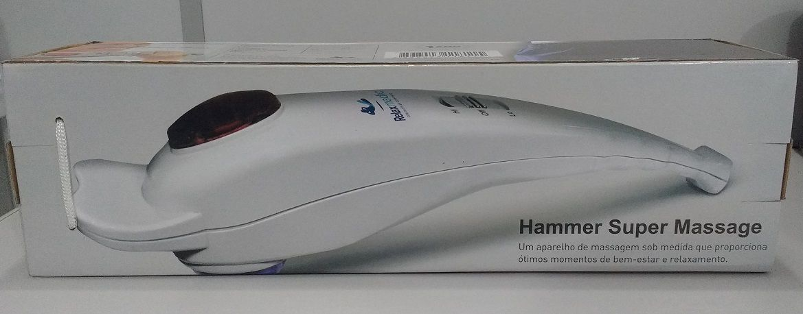 Massageador Hammer Super Massage 127v Relaxmedic