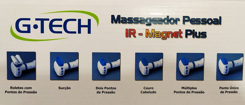 Massageador Pessoal IR-Magnet Plus G-Tech