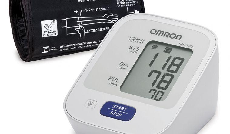 Medidor de Pressão Arterial de Braço Omron HEM-7122 Automático