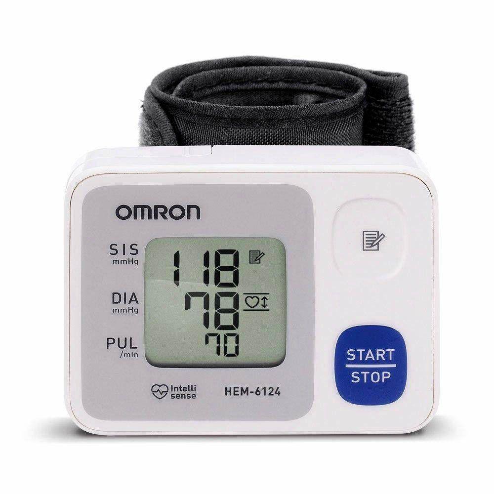 Monitor de Pressão Arterial de Pulso Omron HEM-6124 Automático