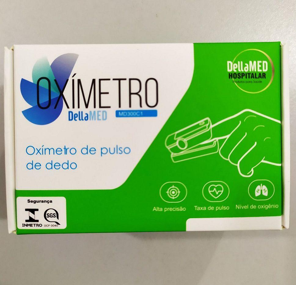 Oxímetro portátil de dedo MD300C1 DellaMed