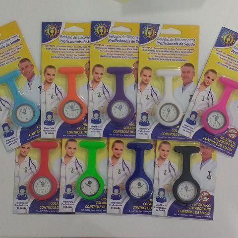 Relógio de Silicone para Profissionais de Saúde Ortho Pauher