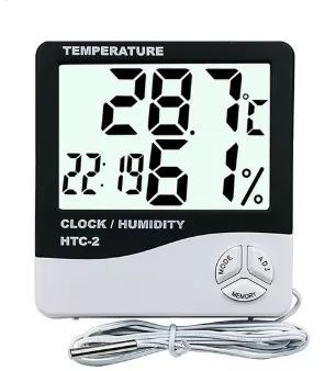 Termo Higrometro Digital Supermedy - Temperatura e Umidade