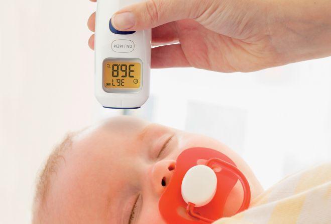 Termômetro De Testa Omron MC-720 Digital