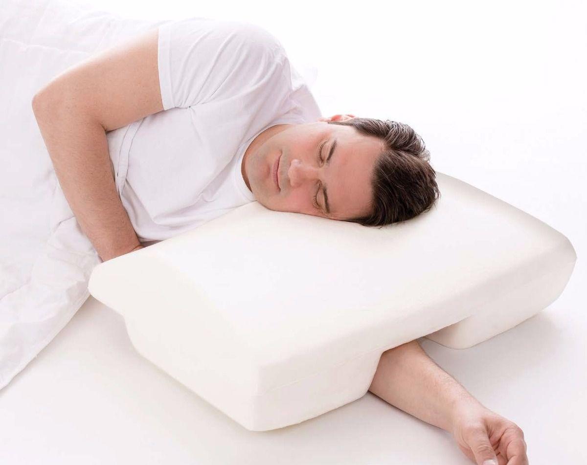 Travesseiro do Silêncio Perfil Baixo - Anti Ronco