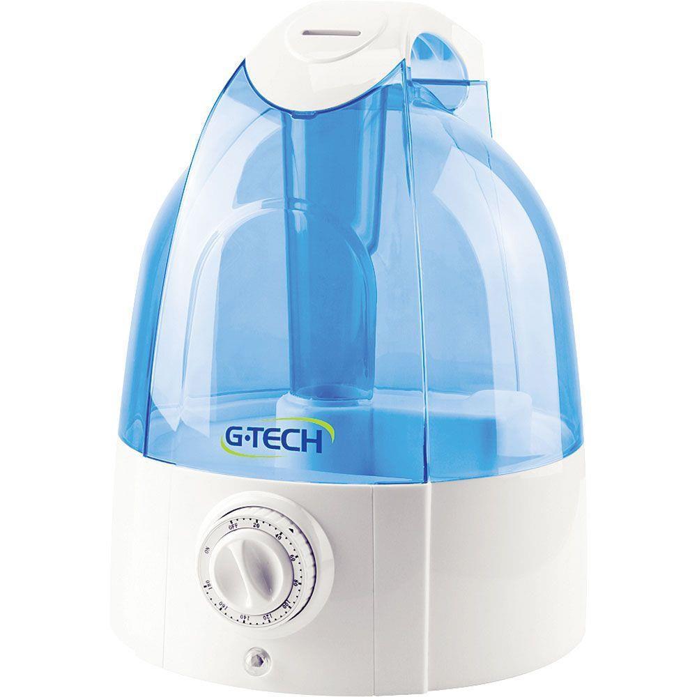 Umidificador de Ar Ultrassônico com Ionizador 5 litros G-Tech - Allergy Free Timer