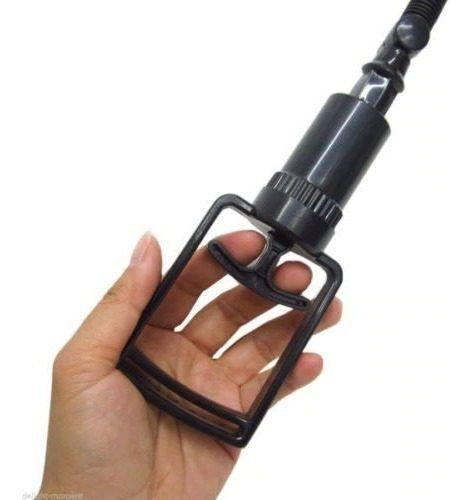 Manopla Com Válvula Para Bomba Peniana Sucção Forte