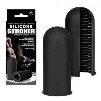 Silicone Stroker Masturbador Masculino Em Silicone Nan102