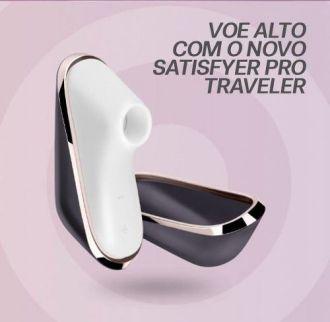 Satisfyer Pro Traveler Vibrador Excitante Sucção Clitóris