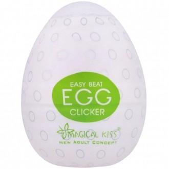 Egg Magical Kiss Ovo Para Masturbação Masculina Tipo Clicker
