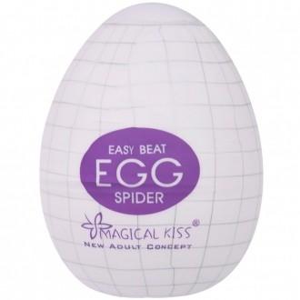 Egg Magical Kiss Ovo Para Masturbação Masculina Tipo Spider
