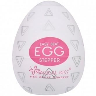 Egg Magical Kiss Ovo Para Masturbação Masculina Tipo Stepper