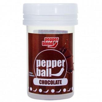 Pepper Ball Plus Bolinha Explosiva Beijável Chocolate