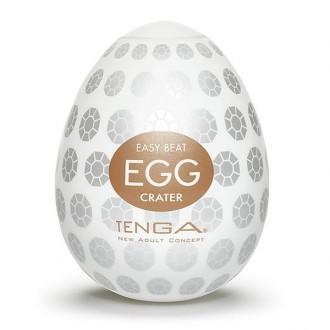 Tenga Egg Original Masturbador Masculino Forma Ovo Crater