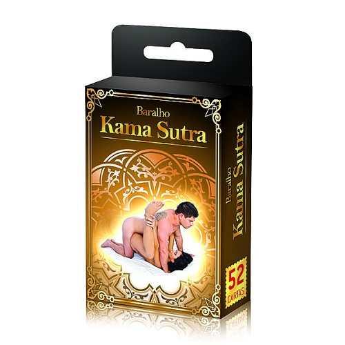 Baralho Kama Sutra Com 52 Cartas Posições Sexuais Ks008