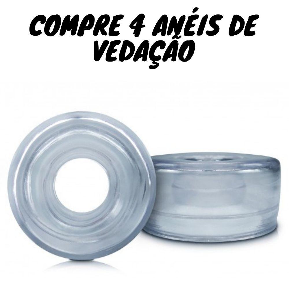 Compre 4 Anel De Silicone Vedação Cilindro Bomba Peniana
