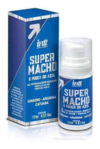 Intt Super Macho Gel Potencializador Masculino Vasodilatador